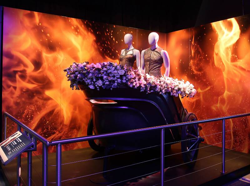 AV Interactive Technology Immerses Visitors into The Hunger Games
