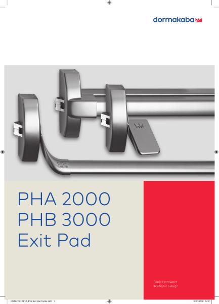PHA 2000, PHA 3000 Exit PAd
