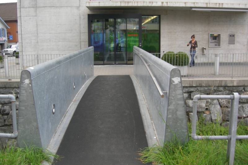 Frontrunner  XT creates safe entranceway