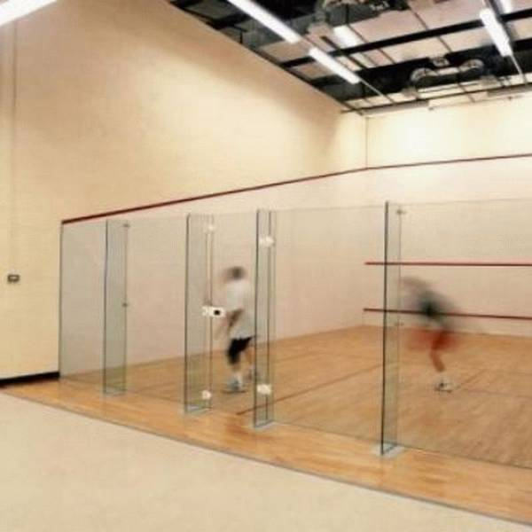 Squash Court Plaster