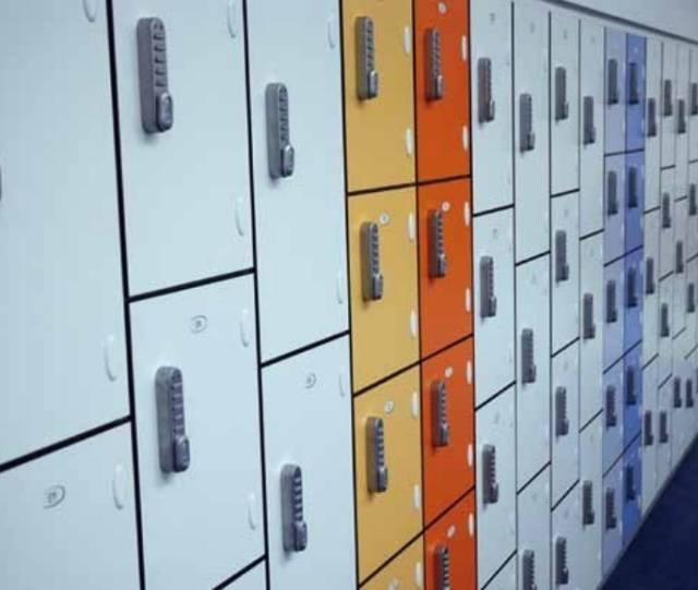02 - H/D Laminate Lockers - Dry Use