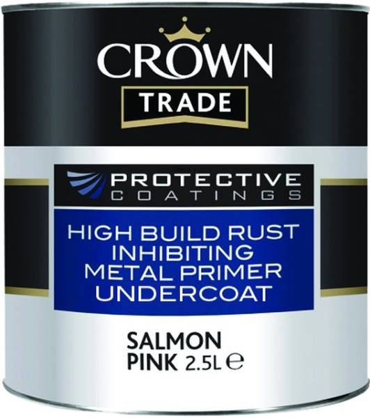 Crown Trade Protective Coatings High Build Rust Inhibiting Metal Primer Undercoat