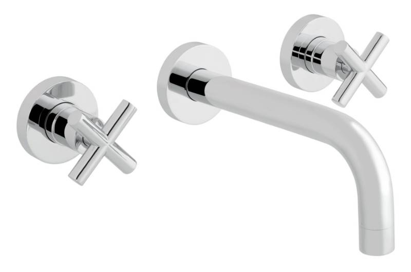 Elements Wall Mounted Basin Mixer Tap