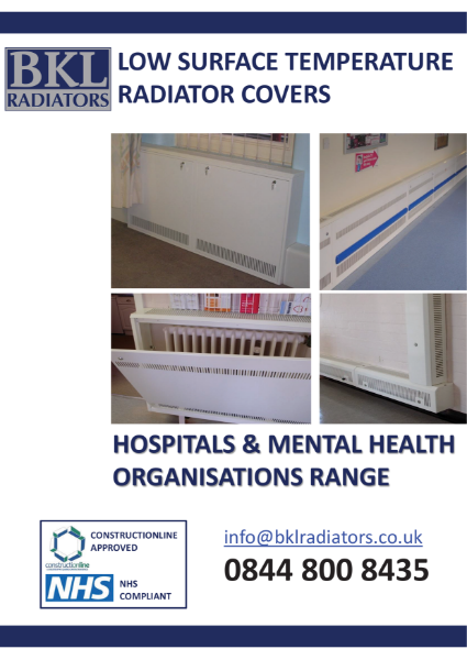 BKL Radiator Covers - Hospital Brochure