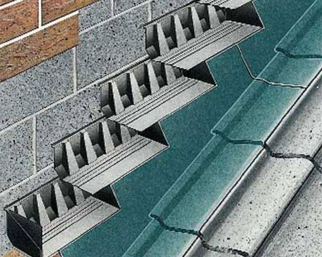Everdry Stepped Cavity Tray for Stonework Unleaded (150 mm coursing/ 125 mm wall thickness)