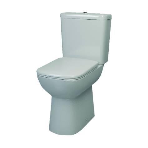Designer Series 6 Comfort height WC set including SC seat