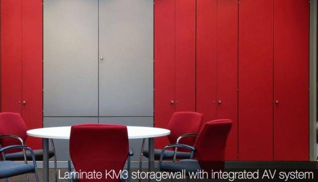 KomStore Storage Wall