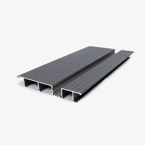 Hyperion Aluminium Decking - 150 Aqua-Channel Deck Board - Class A Fire Rated