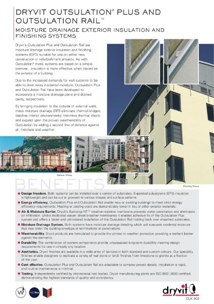 03. Outsulation Plus & Outsulation Rail