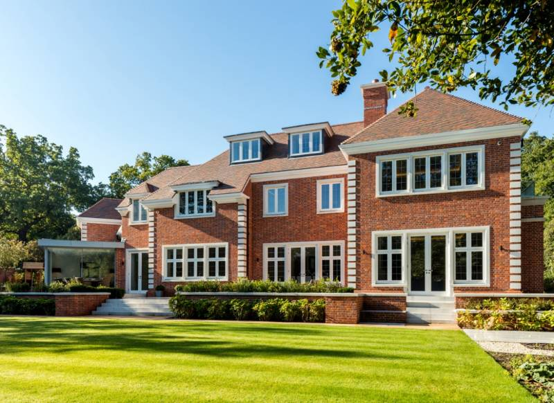 Quality wooden sash windows, French doors, entrance doors and casement windows for Coombe Hill Estate, Kingston upon Thames, Surrey