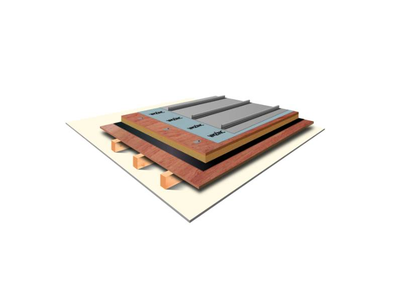 VMZINC Standing Seam Roofing - Standing Seam Roof On Plywood Bonded To Phenolic Foam (Warm, Non-vented)