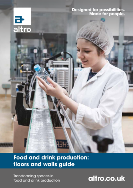 Altro Food and Drink Production Sector Brochure