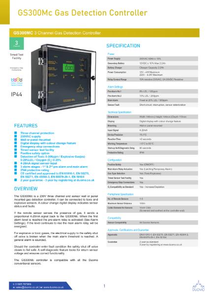 GS300Mc Datasheet