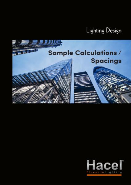 Lighting Design - Sample Calculations / Spacings
