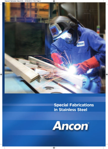 Special Fabrications in Stainless Steel