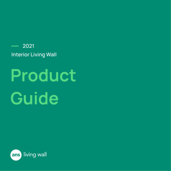 ANS Interior Living Green Wall Product Guide