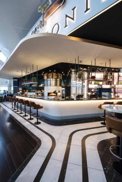 Istoria Bespoke Premium Brownstone for Heston Blumenthal's The Perfectionist's Café