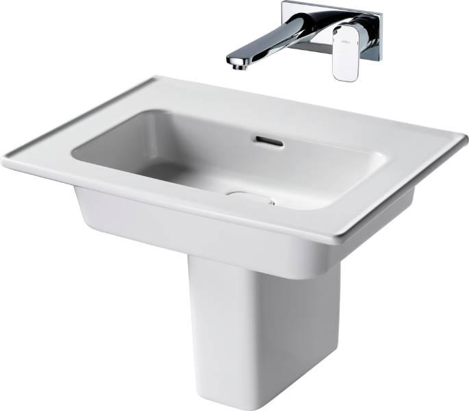 Fusaro Vanity Basin 60 White NTH