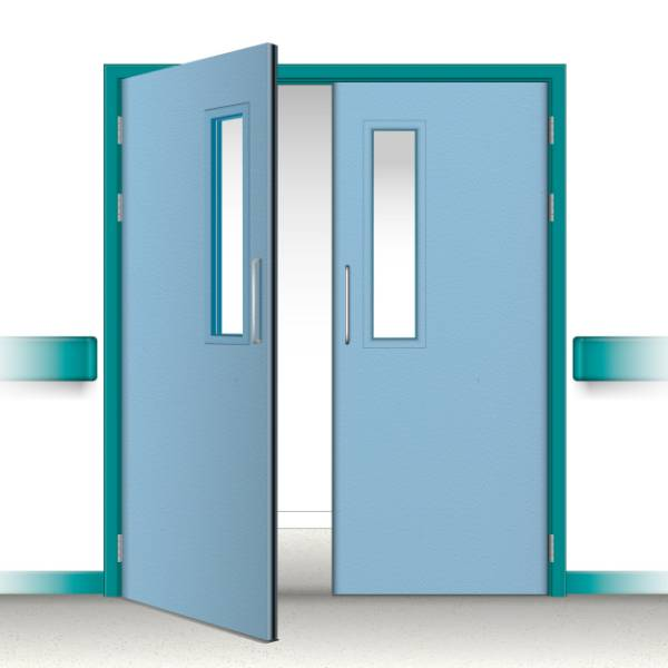 Postformed Double Doorset - Vision Panel 1