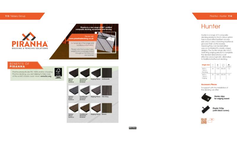Piranha Decking Range Catalogue