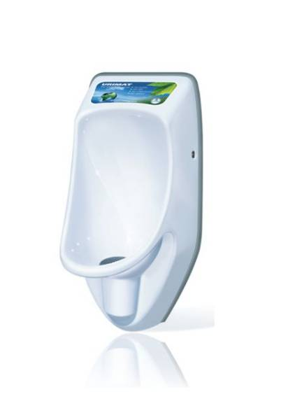 Urimat Compactinfo Waterless Urinal c/w MB ActiveTrap
