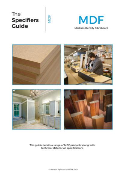 The Specifiers Guide - MDF