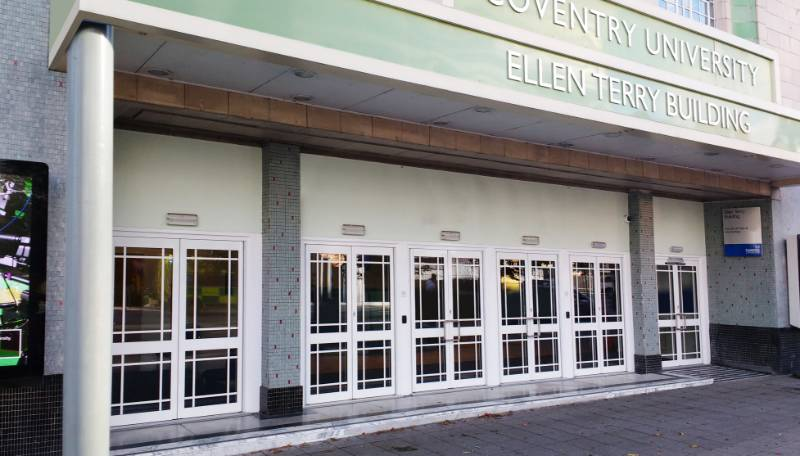 Kestrel Aluminium. Case Study: The Ellen Terry Building, Coventry