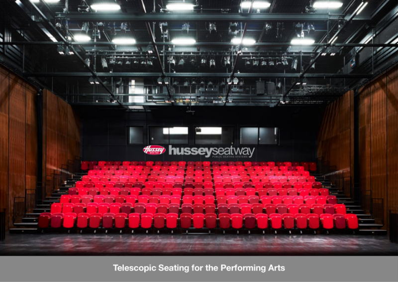 Retractable & Fixed Seating for Performing Arts Venues