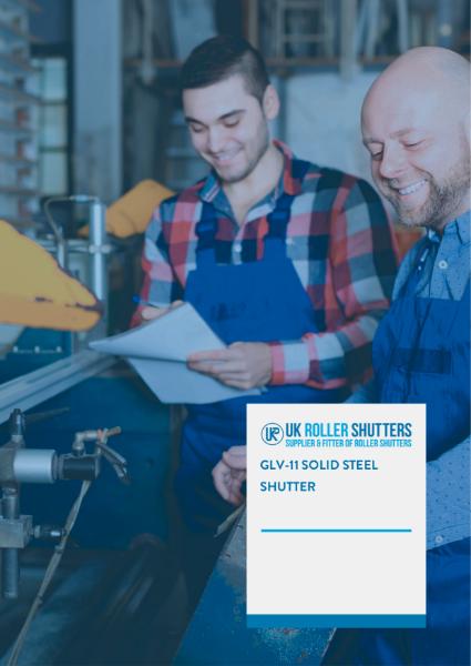 Solid Steel Security Roller Shutter