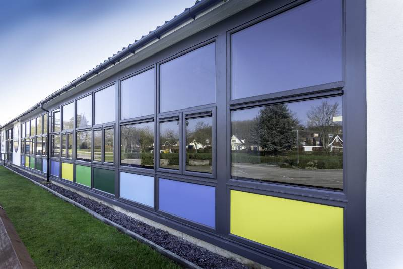Optima Casement Windows were a central part of a £1.3 million renovation project at Woldgate School and Sixth Form College in Pocklington near York
