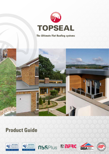 Topseal (GRP) - Fibreglass flat roofing systems - Product Guide