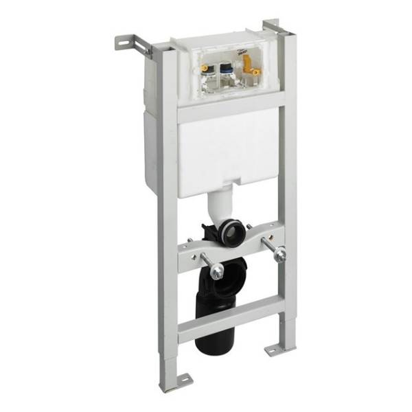 In-wall System for WC 880mm, Pneumatic Top Or Front Flushplate