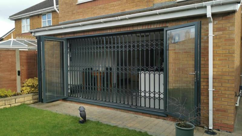 Morecambe Home Made Secure with SeceuroGuard Retractable Gates
