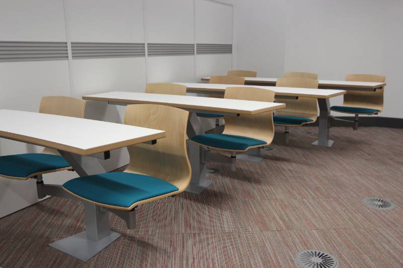 Dudley College Turn and Learn Seating