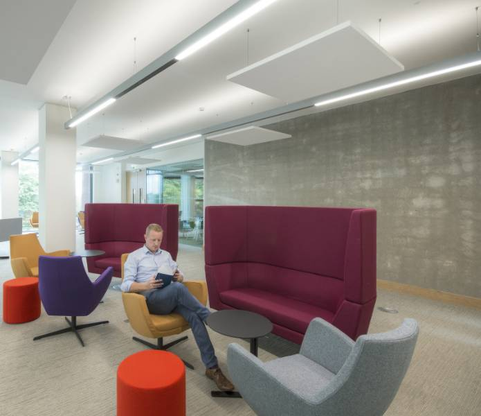Rockfon offer high-performing intelligent acoustic solutions