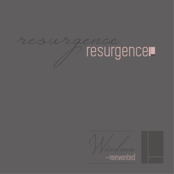Resurgence 80mm flush sash window brochure