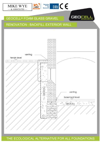 Renovation - Backfill Exterior Wall