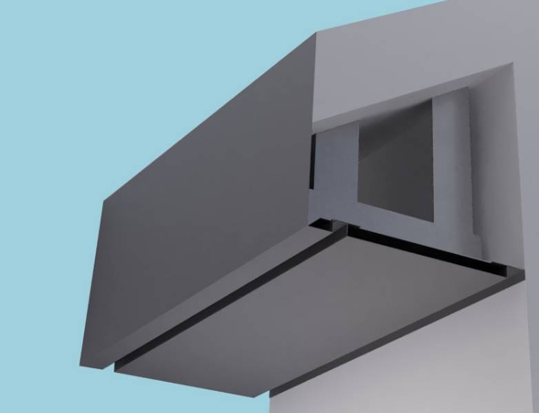 Plain Fascia Eaves Systems: Fascia Soffit & optional Hidden Gutter