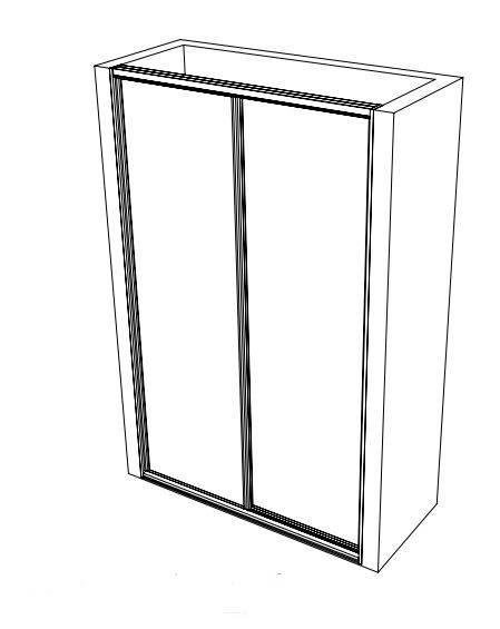 TWO DOOR WARDROBE DESIGN