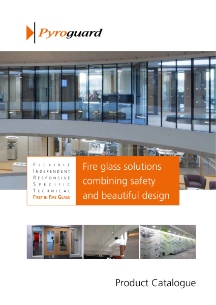 Fire Resistant Glass Solutions - Pyroguard Product Catalogue