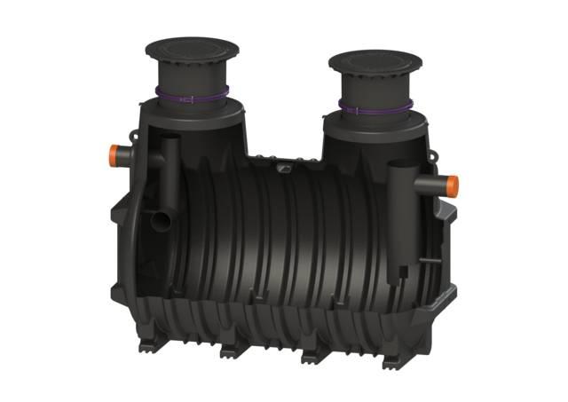 KESSEL Grease Separator EasyClean Ground NS7 -NS35 Standard