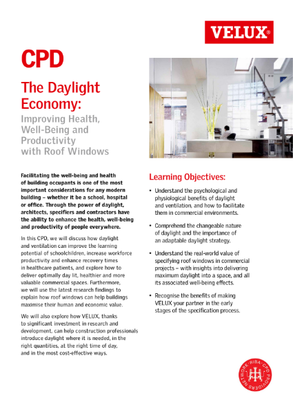 The Daylight Economy CPD