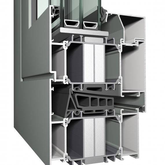 Aluminium Window CS 104 Concept System