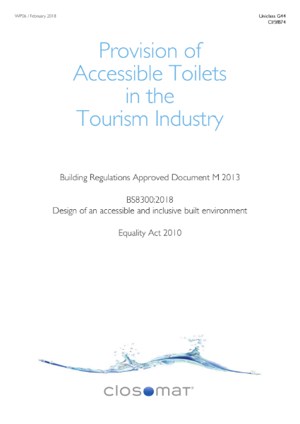 Provision of Accessible Toilets in the Tourism Industry
