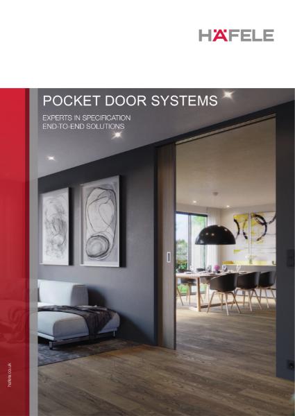 Häfele Pocket Sliding Door Gear