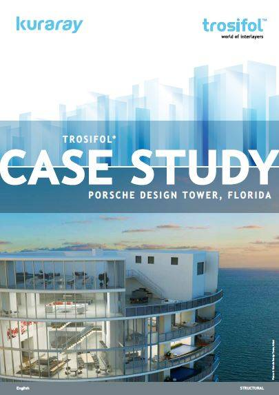 Porsche Design Tower, Florida SentryGlas® – part of the Trosifol Structural product portfolio – balances form, fit and function at the Porsche Design Tower.