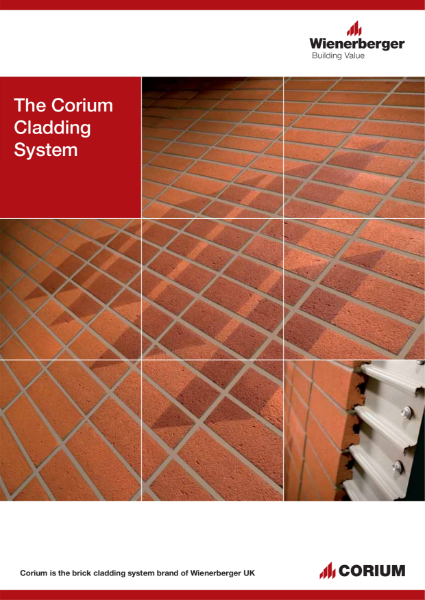 The Corium Cladding System, Wienerberger UK, Corium