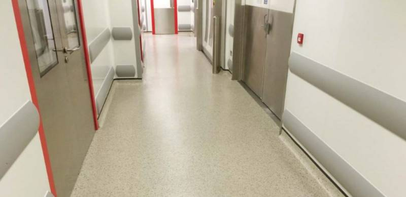 Resin flooring system Elladur™ Deco Flake SF