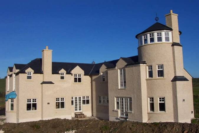 Braw Gate House: ECOSCREED Thermal M13 TF