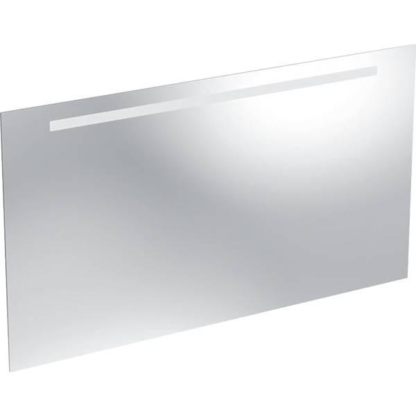 Option Basic illuminated mirror, lighting at the top